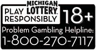 Michigan Lottery- Play Responsibly